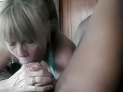 My new mature doxy sucks my BBC like a vacuum cleaner