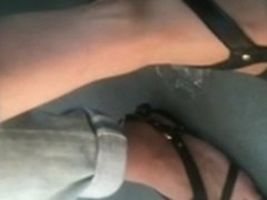 Long toes on bus