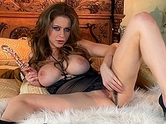 Emily Addison in Auburn Angel