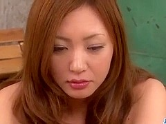 Dazzling scenes of threesome sex with Mio Kuraki