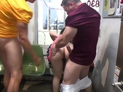 SPEED QUEEN gets FUCKED FILTHY at the Laundromat!