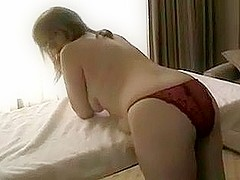 Red amateur pussy can take it
