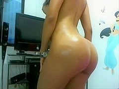 latin babe colombian nataly stunning arse a-hole