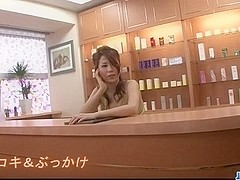 Busty Yuki Aida blows cock in POV manners
