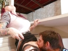 Monique Alexander & Logan Long in Over The Counter - SneakySex